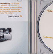 Commerzbank CD Cover und Booklet